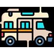 Icono caravana