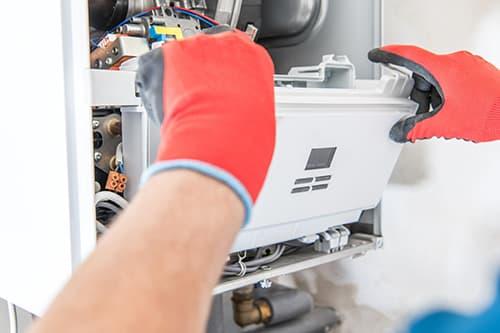 Técnico de mantenimiento de gas butano